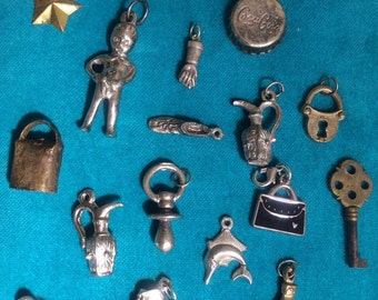 Lot of Small Charms