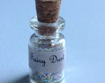 Little pixie dust Charm Gold Glitter
