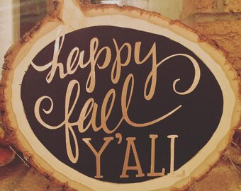 FALL HOME DECOR | wooden sign
