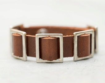 5 Squares bracelet