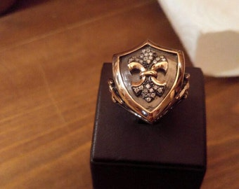 925 Silver men's Ring