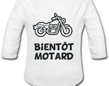 Body baby soon biker - motorcycle