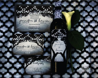 Enchanted Modern Wedding Save the Date