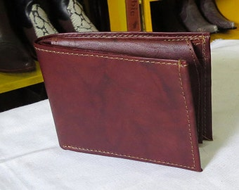 Leather Wallet / Wallet handmade