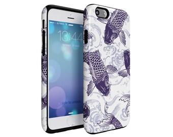 Blue Fish tough case. iphone7, iphone6, iphone, Samsung Galaxy