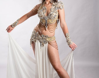 SHERAZADE (and love triumphs) Belly Dance dress