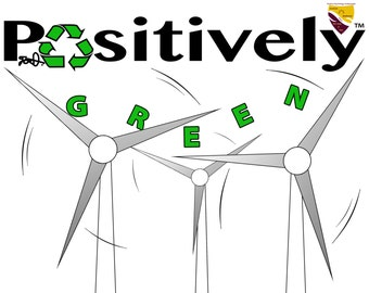 Positively Green Canvas Print
