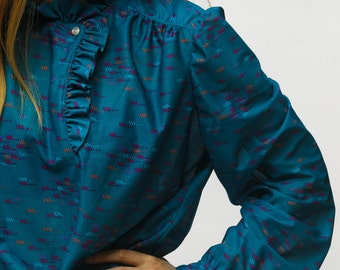 The Secret in the Teal Blouse | vintage 1980s
