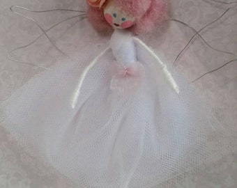 Fairytale cotton and wire doll