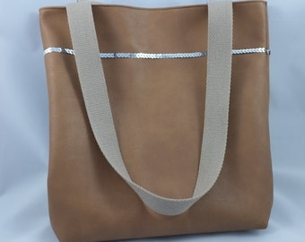 Bag camel leather - Similisimply