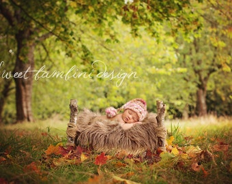 Digital Backdrop Newborn Photography Outdoor Bed Prop