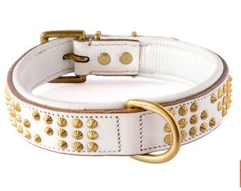 Hercules Leather Dog Collar
