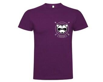 T-shirt PURPLE-Pucksuck, raccoon, raccoon