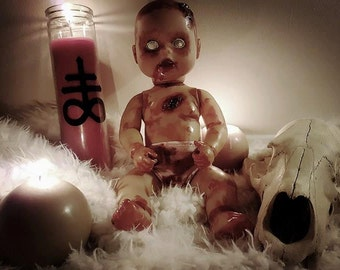 Zombaby with Glow in The Dark Eyes!