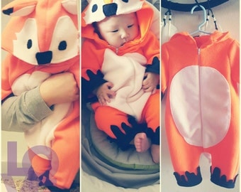 Fox Orange Baby Halloween Costume