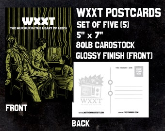 WXXT Postcards (Set of 5)