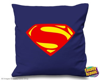 Superman - Pillow Cushion Cover - Comic Book Sup erHero, Inspired by the film series & comic hero, Man of Steel