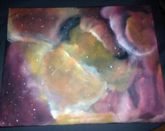 Nebula Canvas Painting