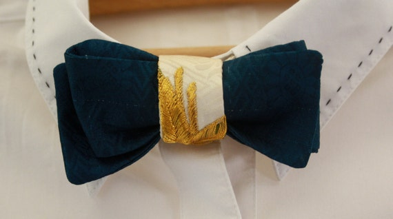 Silk Bow Tie by Foxy and Boo