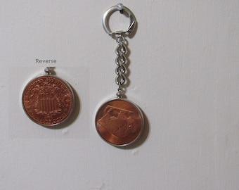 Clasp type key chain