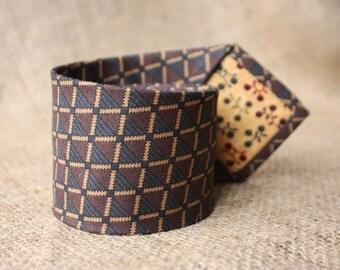 Tie dark gray-brown