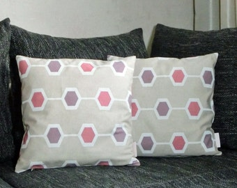 """Cushion covers 40 x 40 cm """"6-corner"""" in the Double Pack"""