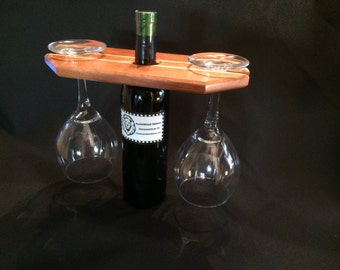 Cherry and Maple Wine Butler
