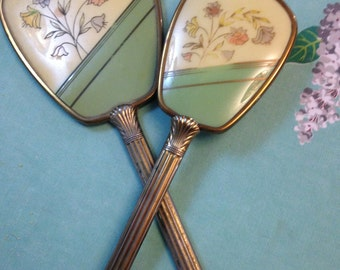 50's Hand Mirror And Comb set.