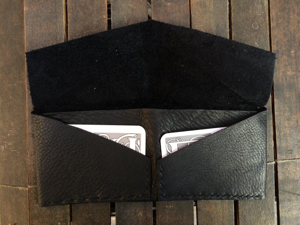 Black origami billfold