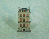 Dollhouse Miniature Doll's House Stand Up
