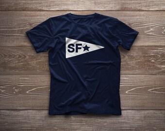 San Francisco Flag Unisex Adult Tee