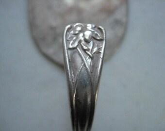 Silver plated Stubby Spoon hook curtain tie backs kitchen  or bath towel  hanger coat hook