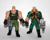 Small Soldiers Brick Bazooka + Chip Hazard Lot of 2 Action Figures Vintage 1990s