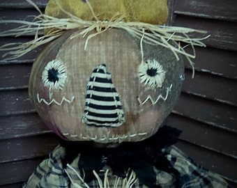 VERY Primitive, Rustic, Fall, Thanksgiving, Harvest, Queen, Pumpkin, Pumpkinhead, TeamHAHA, hafair, FAAP, Doll by Mustard Seed Originals