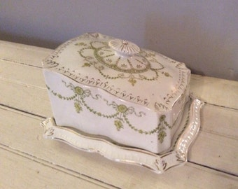 Winter sale Victoria Cheese/Butter Dish