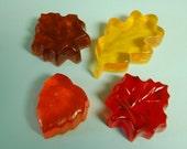 Autumn Leaves Glycerin Soap Set