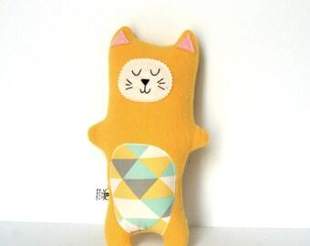 Super Soft Plush Cat, Kitty Softie,  Stuffed Animal - Baby Gift