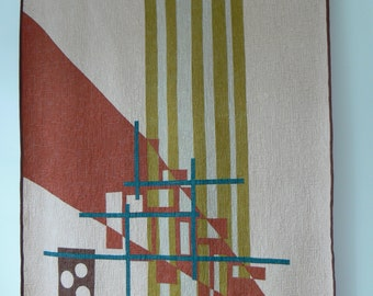 Abstract Design #25 Quilt