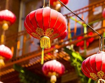 Chinatown Photography, Paper Lanterns, San Francisco Photos, Lighting Fixtures, Colorful California, Travel, China Town
