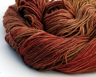 Hand dyed Sock Yarn Merino Cashmere MCN - Good Badlands