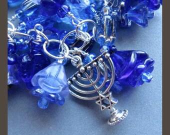 Channukah Hanukkah Charm Bracelet