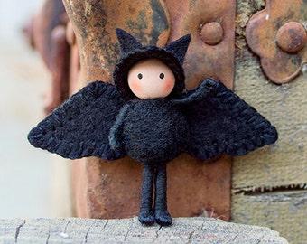 Bat Doll Toy Tiny Bendy