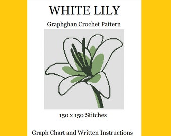 White Lily - Graphghan Crochet Pattern