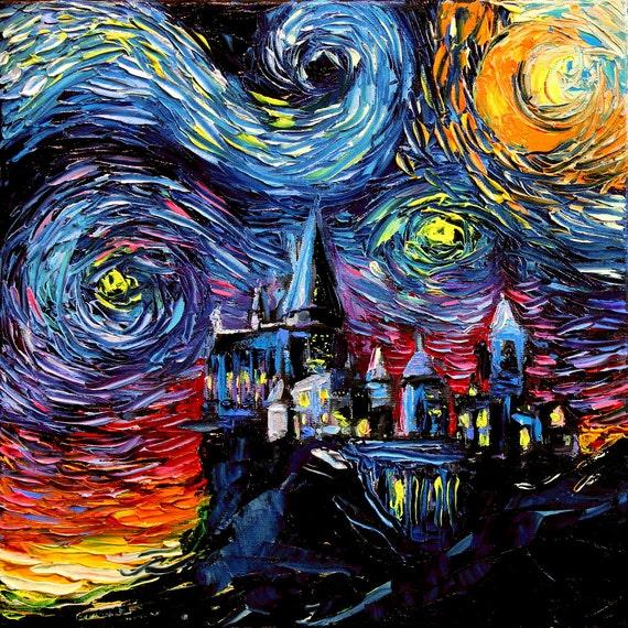 ゴッホ 星月夜 ハリーポッター
