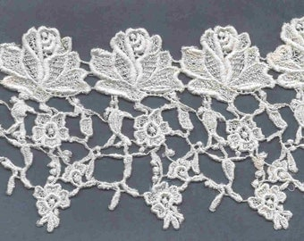 Fabulous Extra Wide White Lace