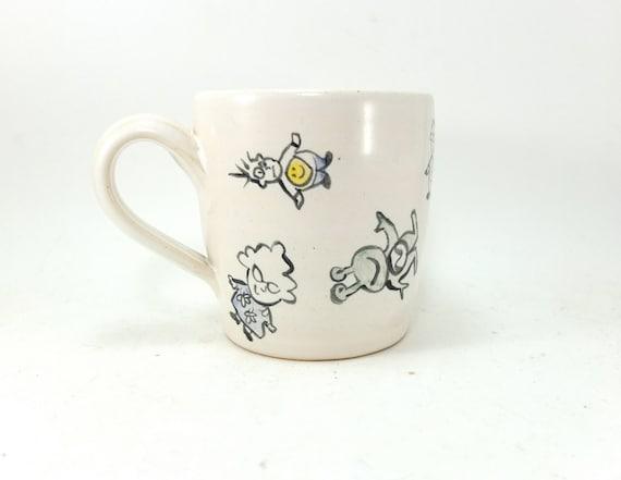 roly-poly people mug