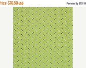 ON SALE Denyse Schmidt Flea Market Fancy Legacy Collection Green Eyelet cotton Fabric by the yard
