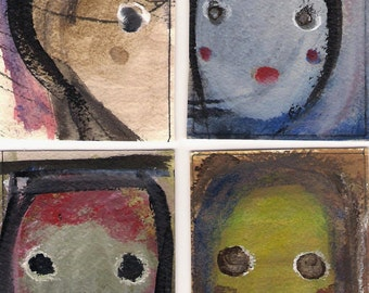 No.3026, ACEO Card Set Art Cards