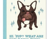 Lovable Doggy Card
