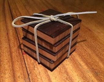 Bamboo Plywood Coasters